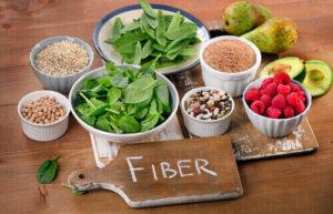 fiber-rich foods for the gut